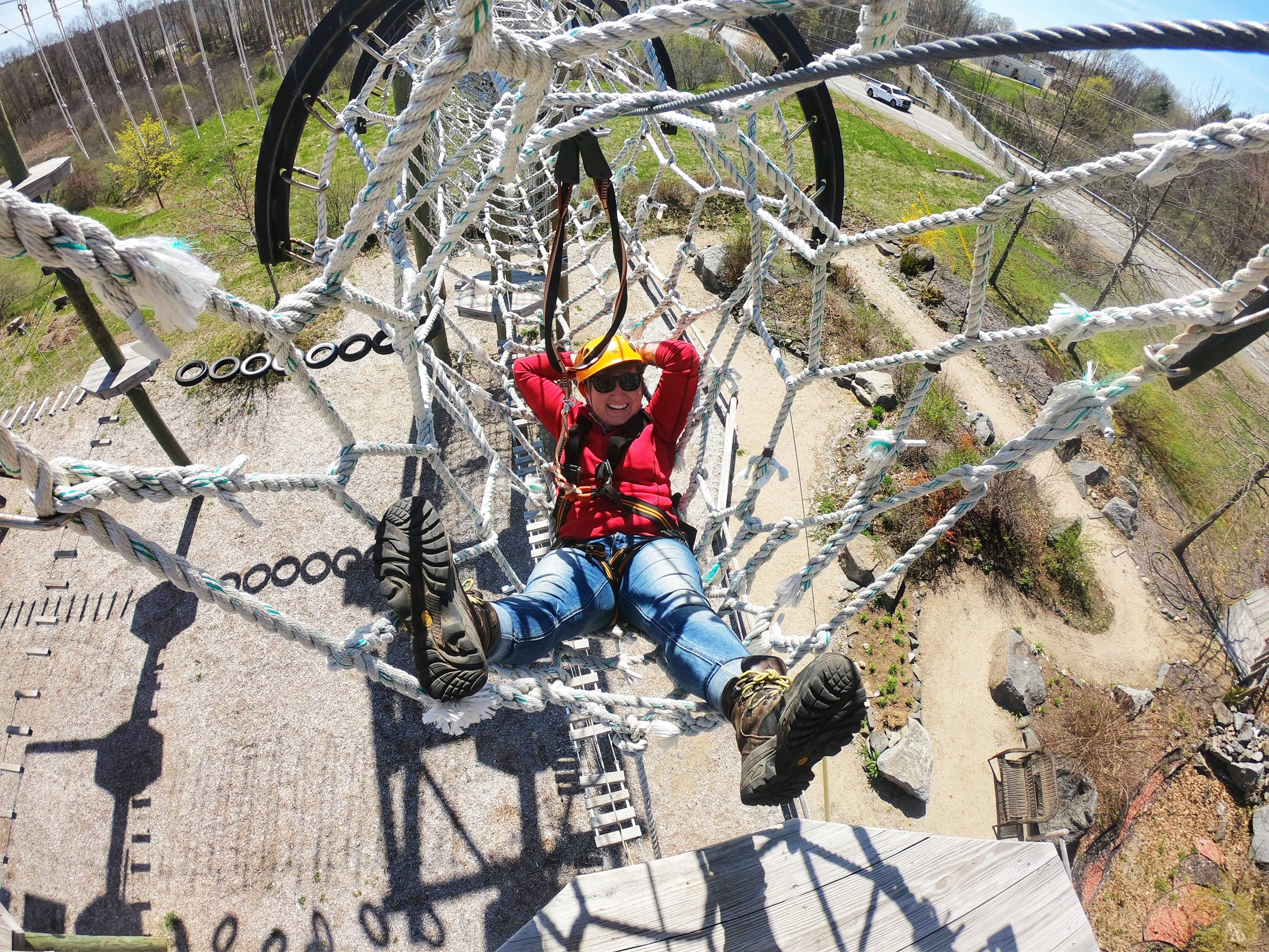 tourist attractions in southern maine - take flight adventure park