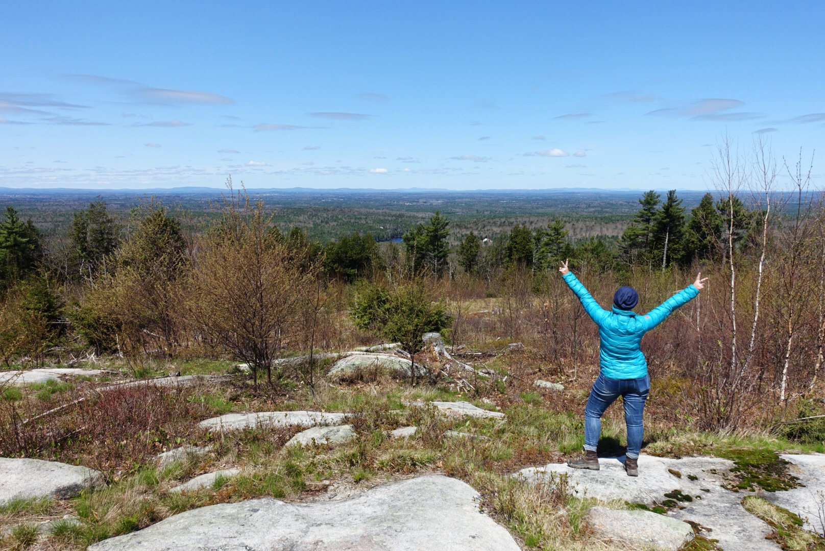 visit southern Maine - Hike Mount A