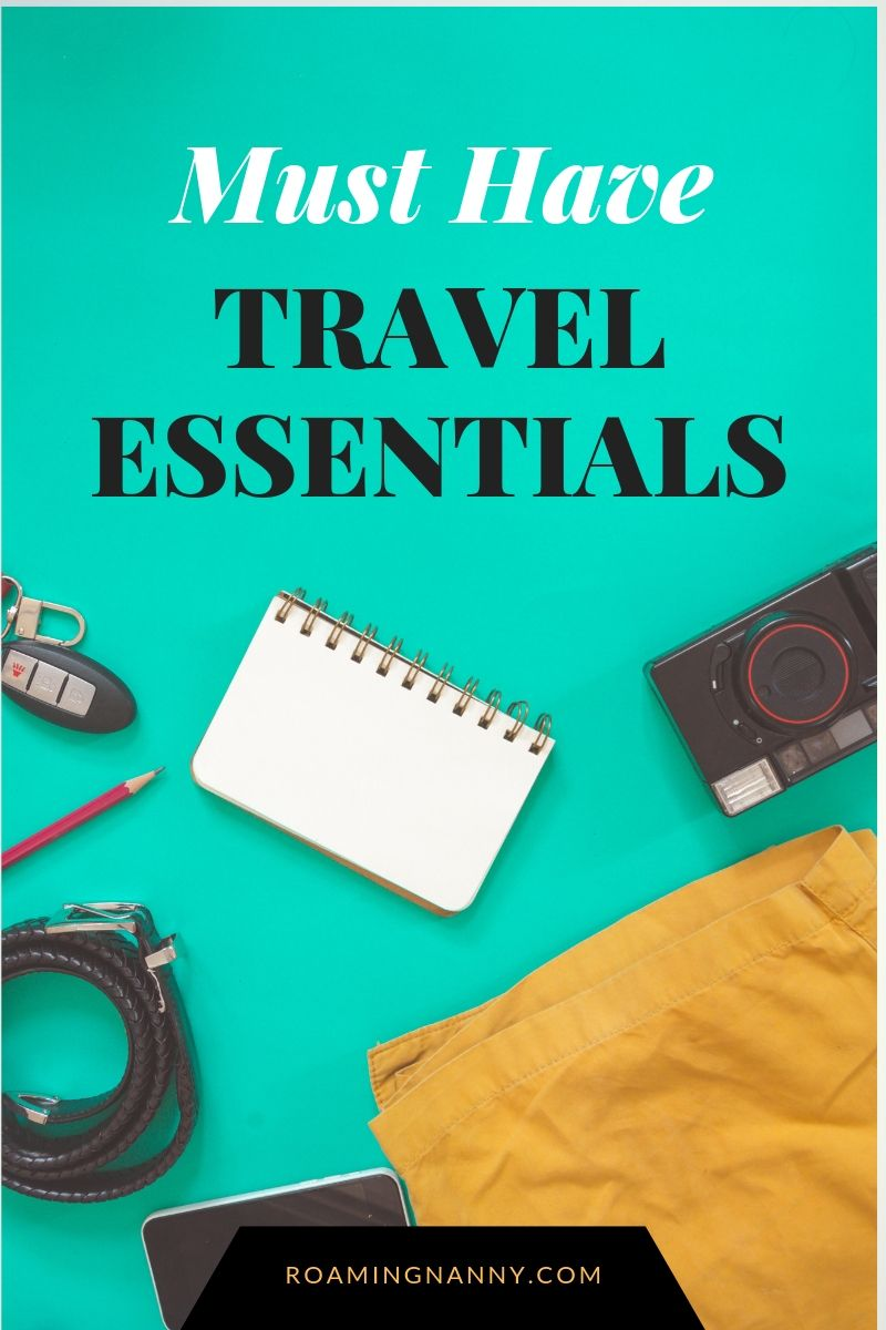 Travel Essentials aren't things you find overnight. They're found over years of traveling, experimenting, and trying out new and interesting brands. Here are some of my favorite things I don't leave home without. #travelessentials #travel #travelgear #musthavetravelgear