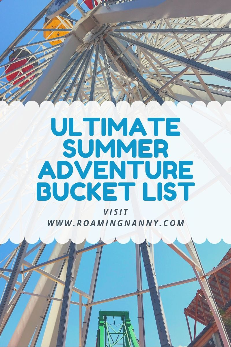 Use the Ultimate Summer Adventure Bucket List to help you find activities to do, explore new places, and have an epic summer! #bucketlist #summertime #summer #explore