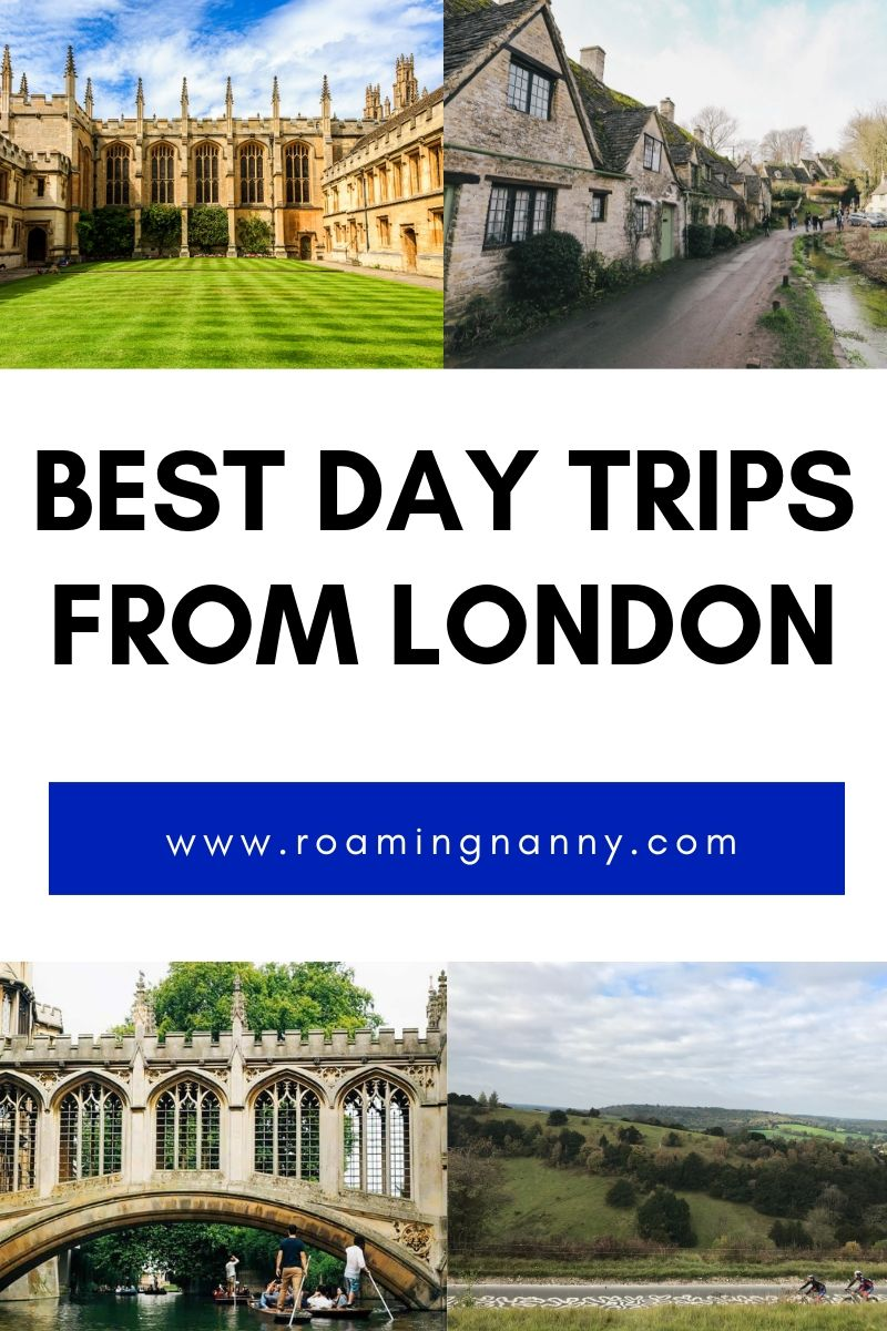 London is a perfect jumping off point to discover the southern United Kingdom. Here are the best day trips from London. #london #daytrips #visitlondon #discovertheunitedkingdom
