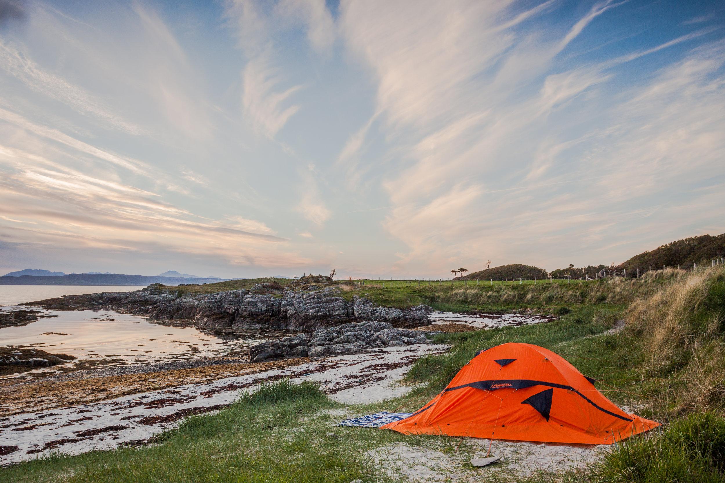 Summer Bucket List - Camping