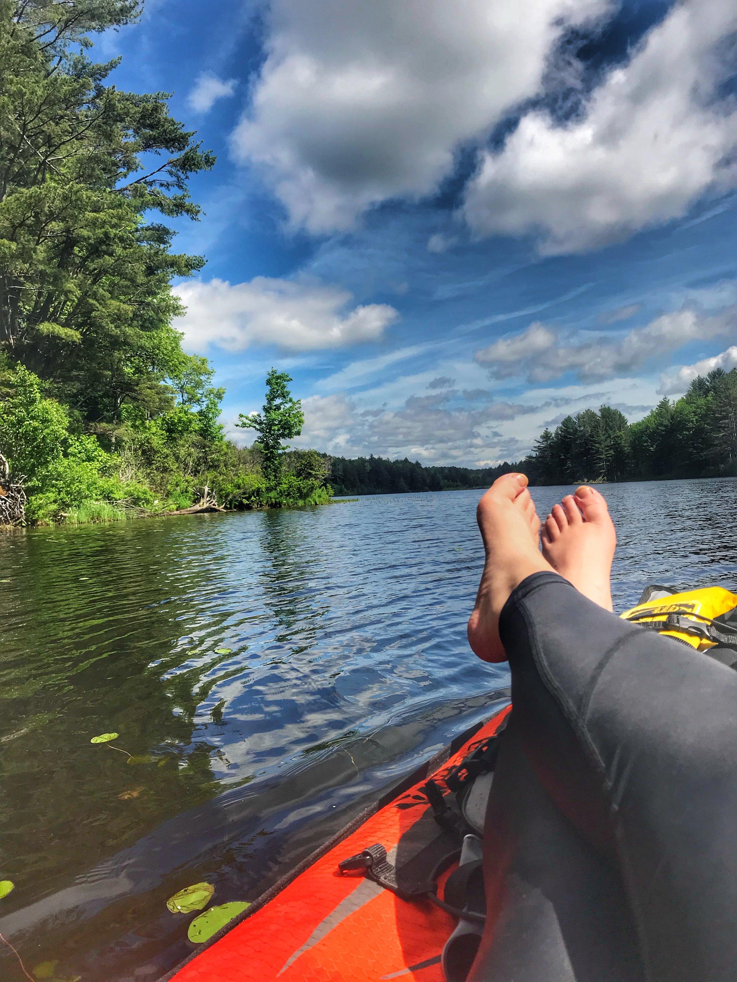 summer bucket list - kayaking