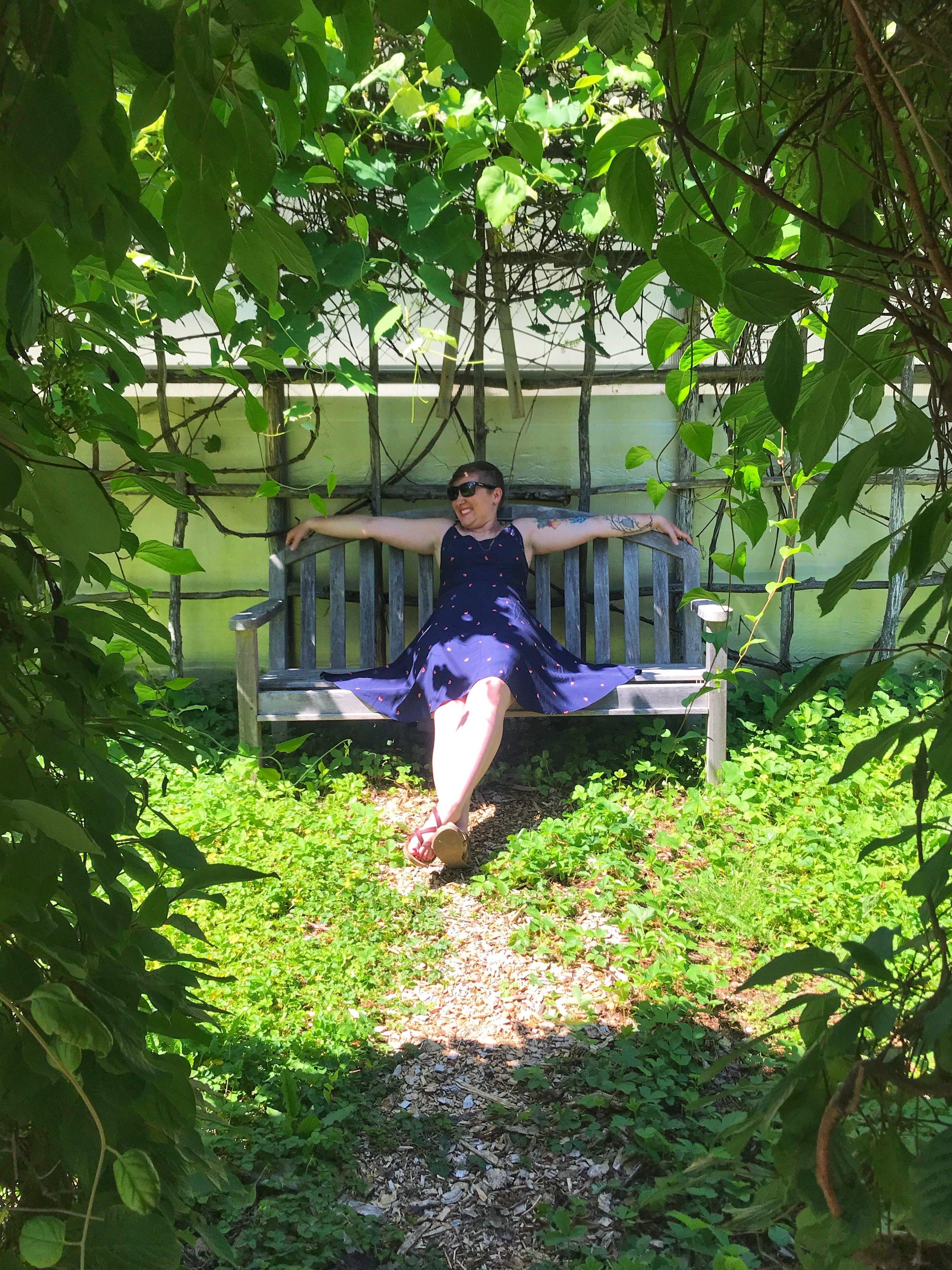 summer bucket list - botanical garden