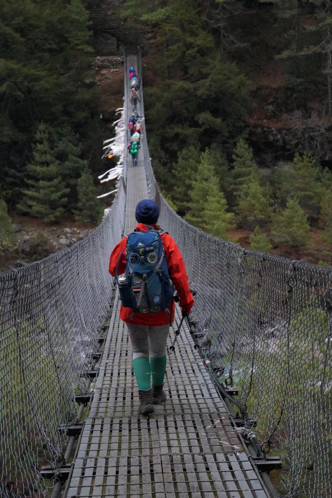 yak bridge to everest base camp