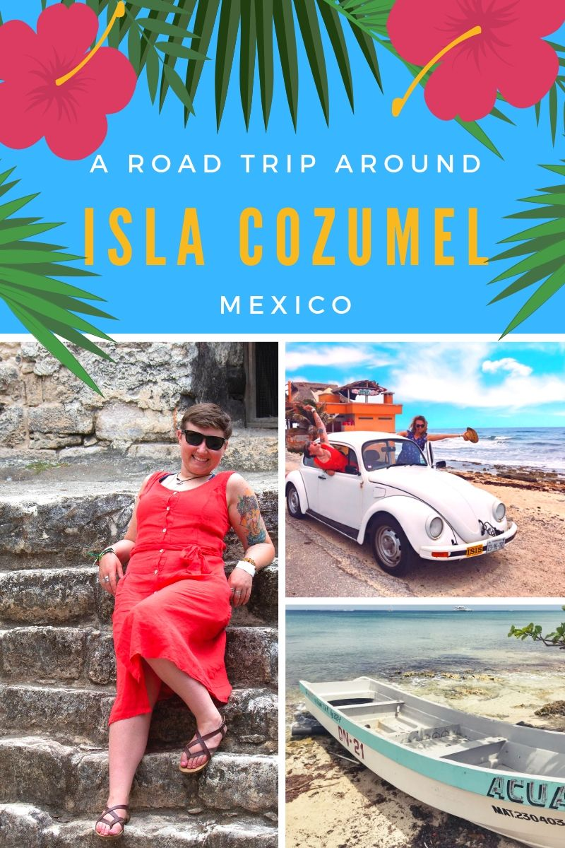 A road trip around the small island of Cozumel, Mexico will allow any visitor to see the real Cozumel outside of the cruise ports. #cozumel #islacozumel #mexico #cozumelmexico