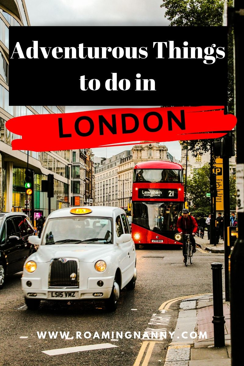 London is a city full of surprises and believe it or not there are plenty of adventurous things to do there. From kayaking to climbing and everything in between. #adventure #london #visitlondon #adventurous #adventuretravel #cityexplorer
