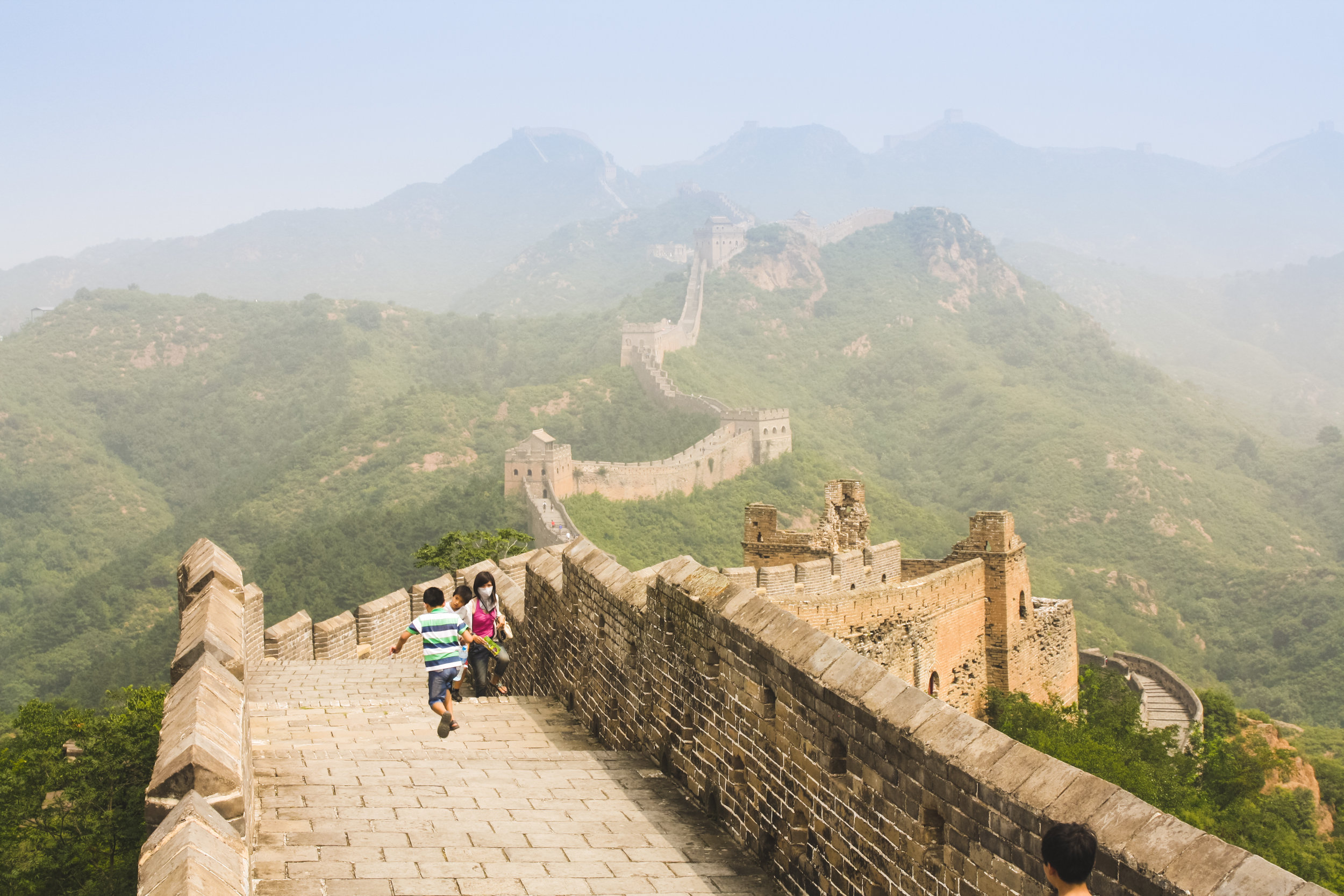 Best Section of the Great Wall of China