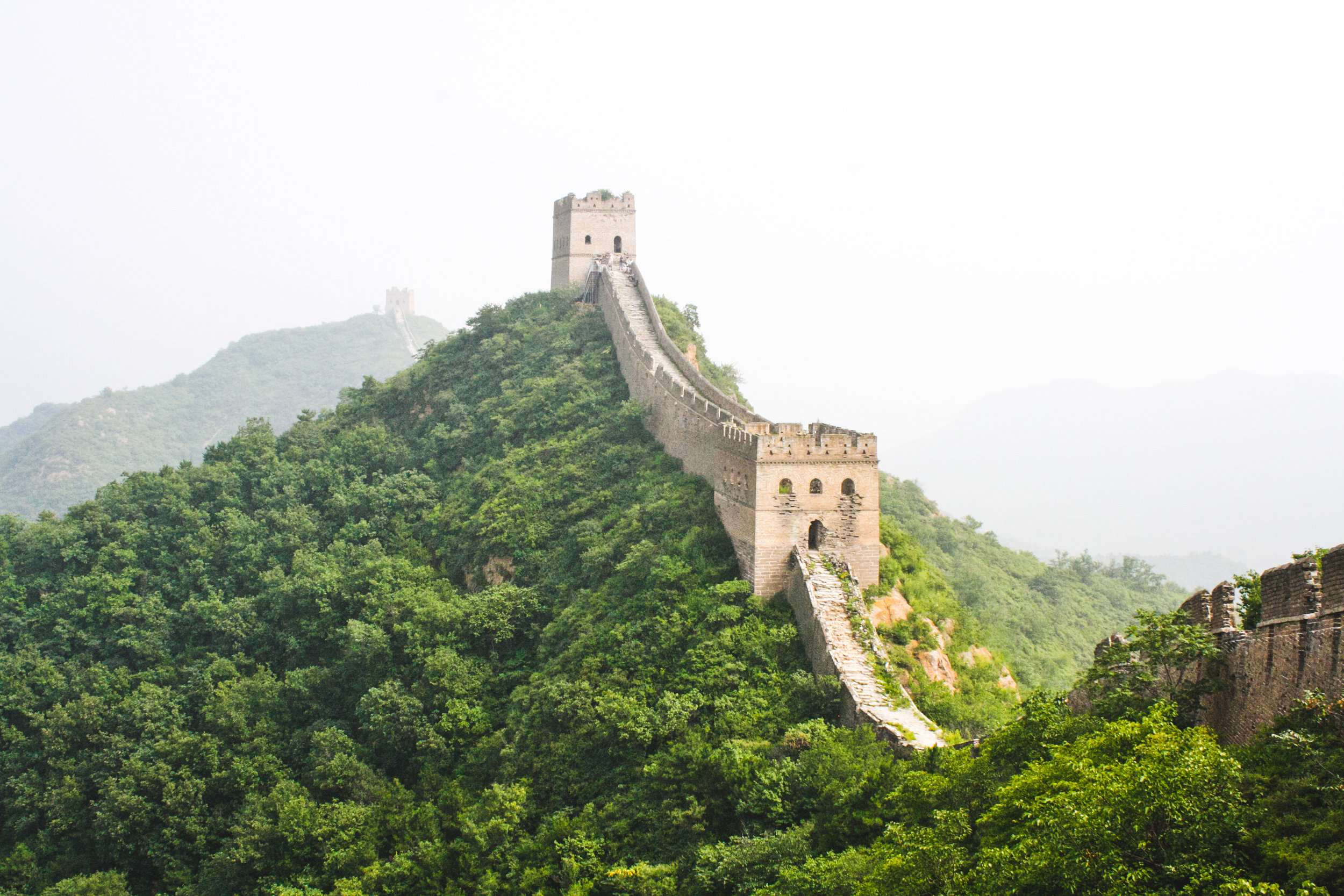 What is the best section of the Great Wall to visit?