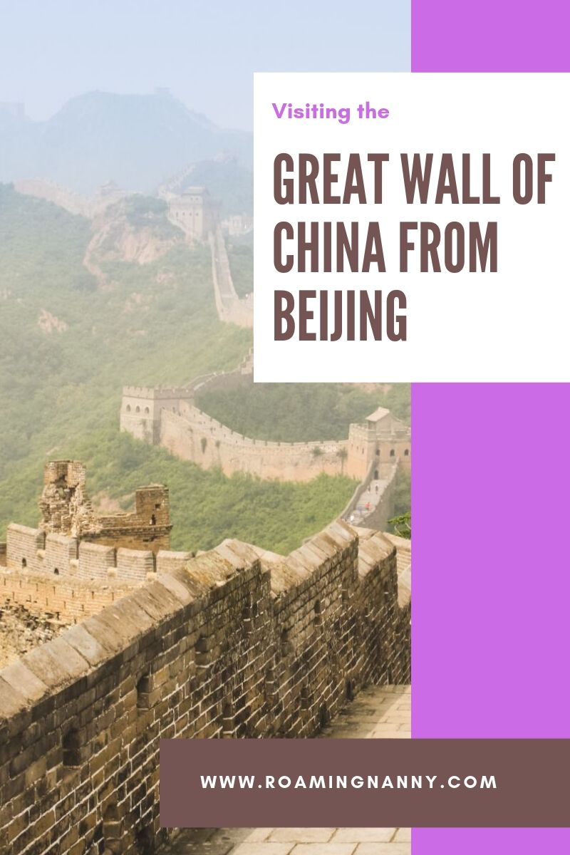 Visiting the Great Wall of China from Beijing: Why Jinshanling is the best section to visit #greatwallofchina #china #greatwall #visitchina #jinshanling