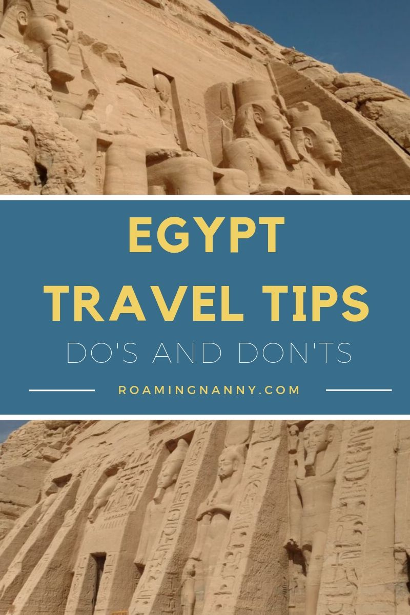 Here are some Do's and Don'ts for traveling to Egypt #egypt #visitegypt #middleeast #dosanddonts #traveltips