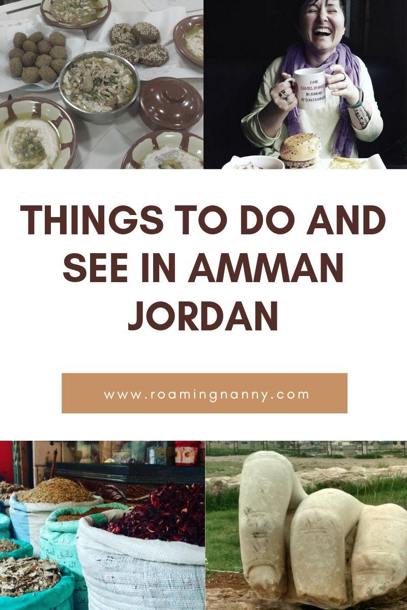 Amman, Jordan is full of amazing things to do, eat, and see. #visitjordan #amman #jordan #ammanjordan #middleeast