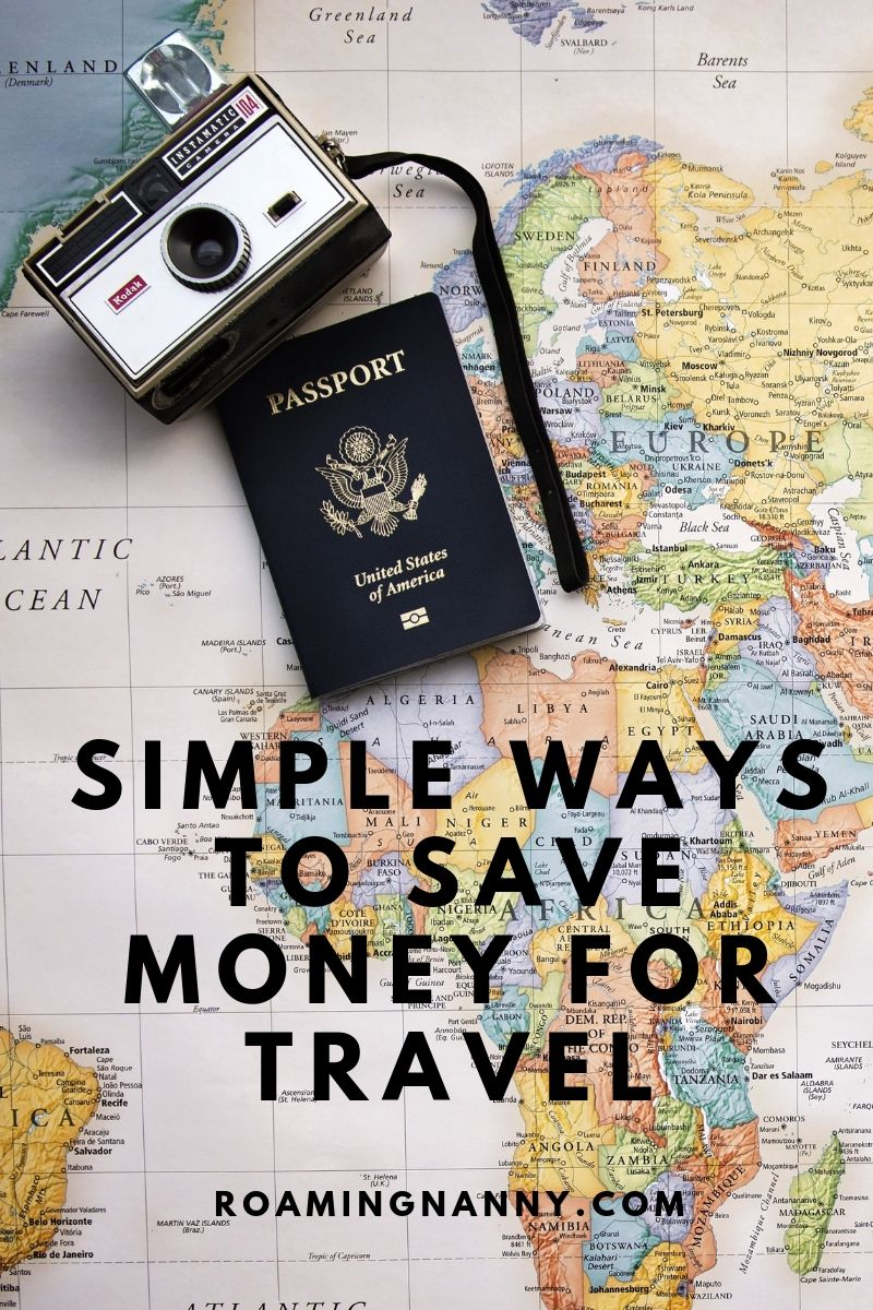 Traveling the world isn't just something for the rich. Here are a few ways I save money to travel. #travel #savemoney #budget #budgettravel