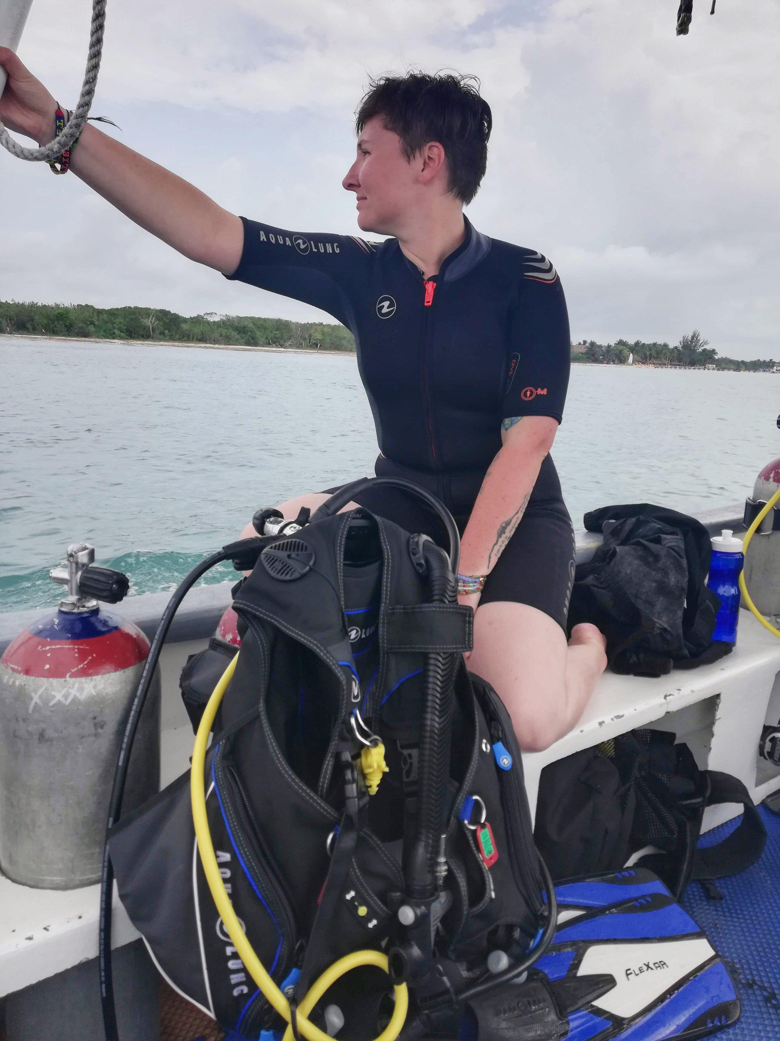 Scuba diving cozumel