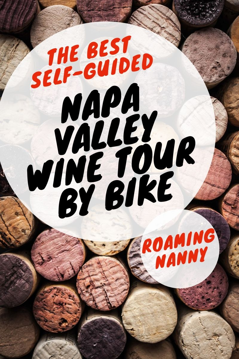 Exploring Napa Valley by bike is an unforgettable experience and a unique way to see this famous wine region. #napavalley #napa #californiawinecountry #visitcalifornia #california #wine #winecountry