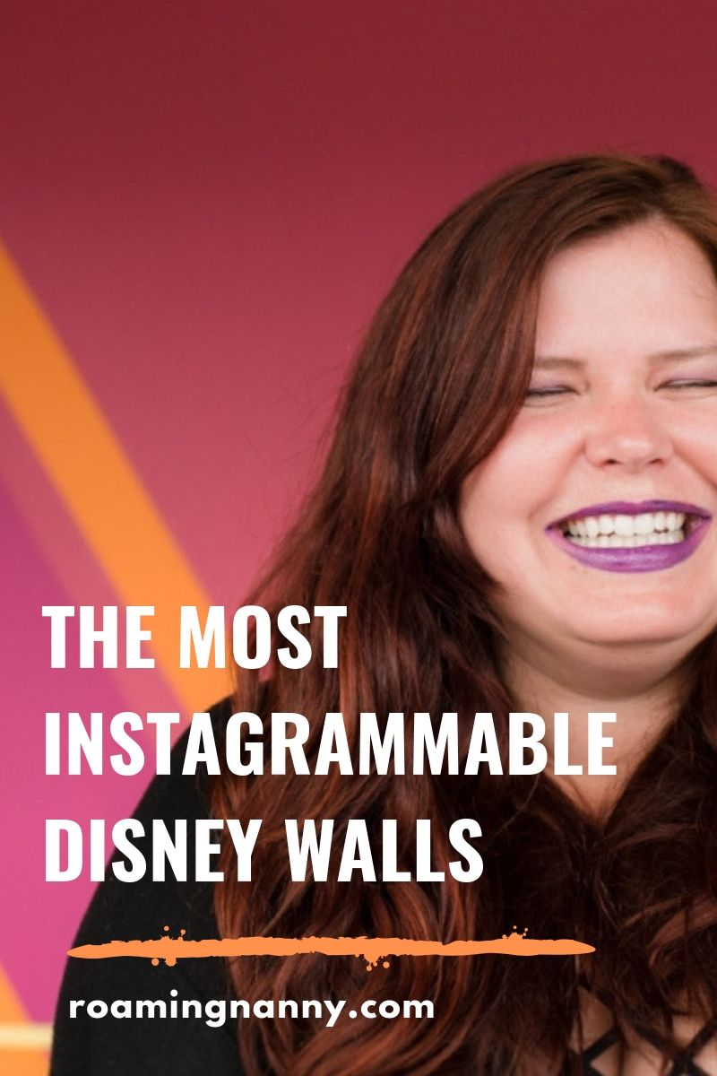 Find the most Instagrammable Disney Walls with the help from some of Disney's biggest fans and experts. #disneywalls #instagrammable #instagram #wallsofdisney #disneyworldwalls #disneylandwalls