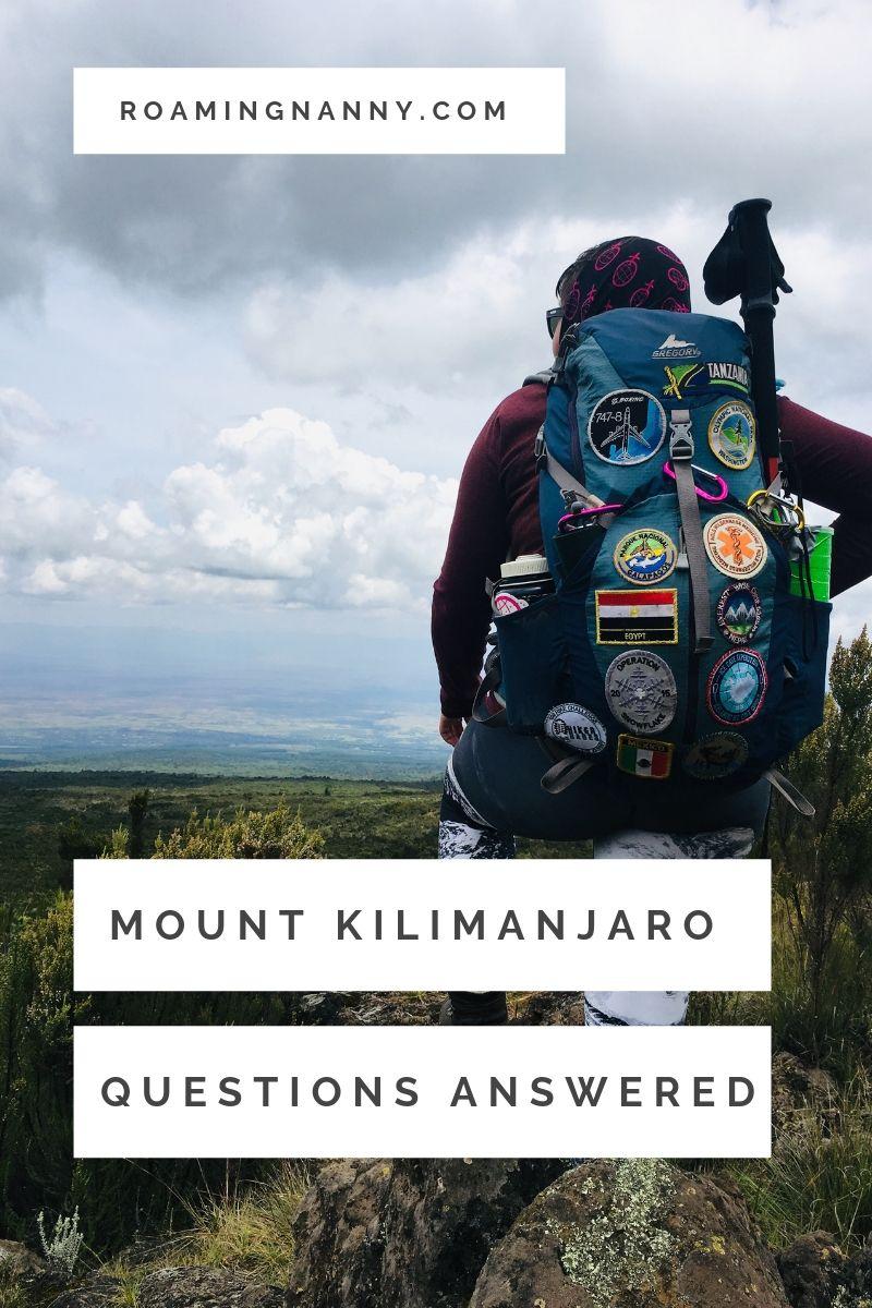 All the questions you have about climbing Mount Kilimanjaro answered. #climbkili #mountkilimanjaro #kilimanjaro #tanzania #africa