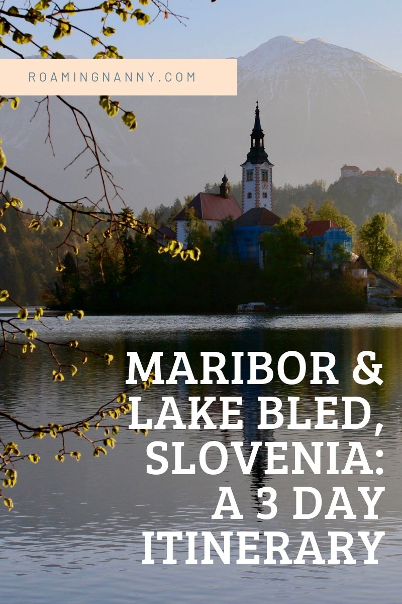 3 Days in Maribor and Lake Bled, Slovenia #slovenia #europe #roadtrip #travel