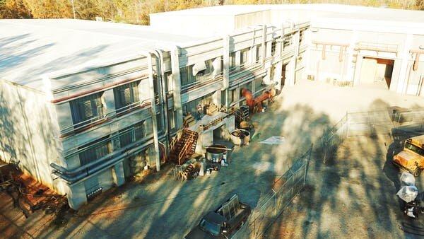 Photo courtesy of Walking Dead Studio Tours