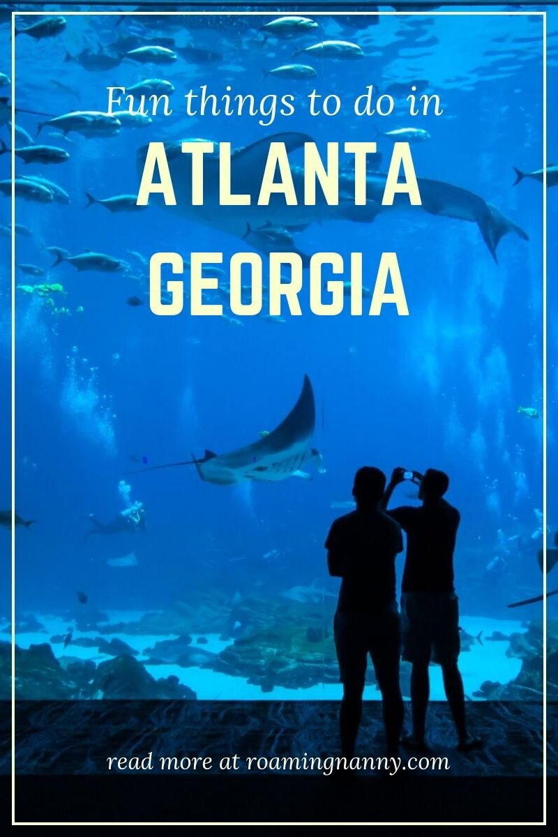 Atlanta Georgia is full of fun activities to do and plenty to see. Check out these places for your next trip! #atlanta #georgia #ustravel #unitedstates