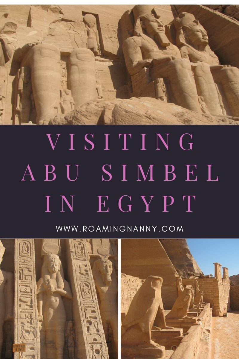 Abu Simbel is one of the most amazing temple complexes in Egypt. Here's how to get to most out of your visit. #egypt #abusimbel #visitegypt