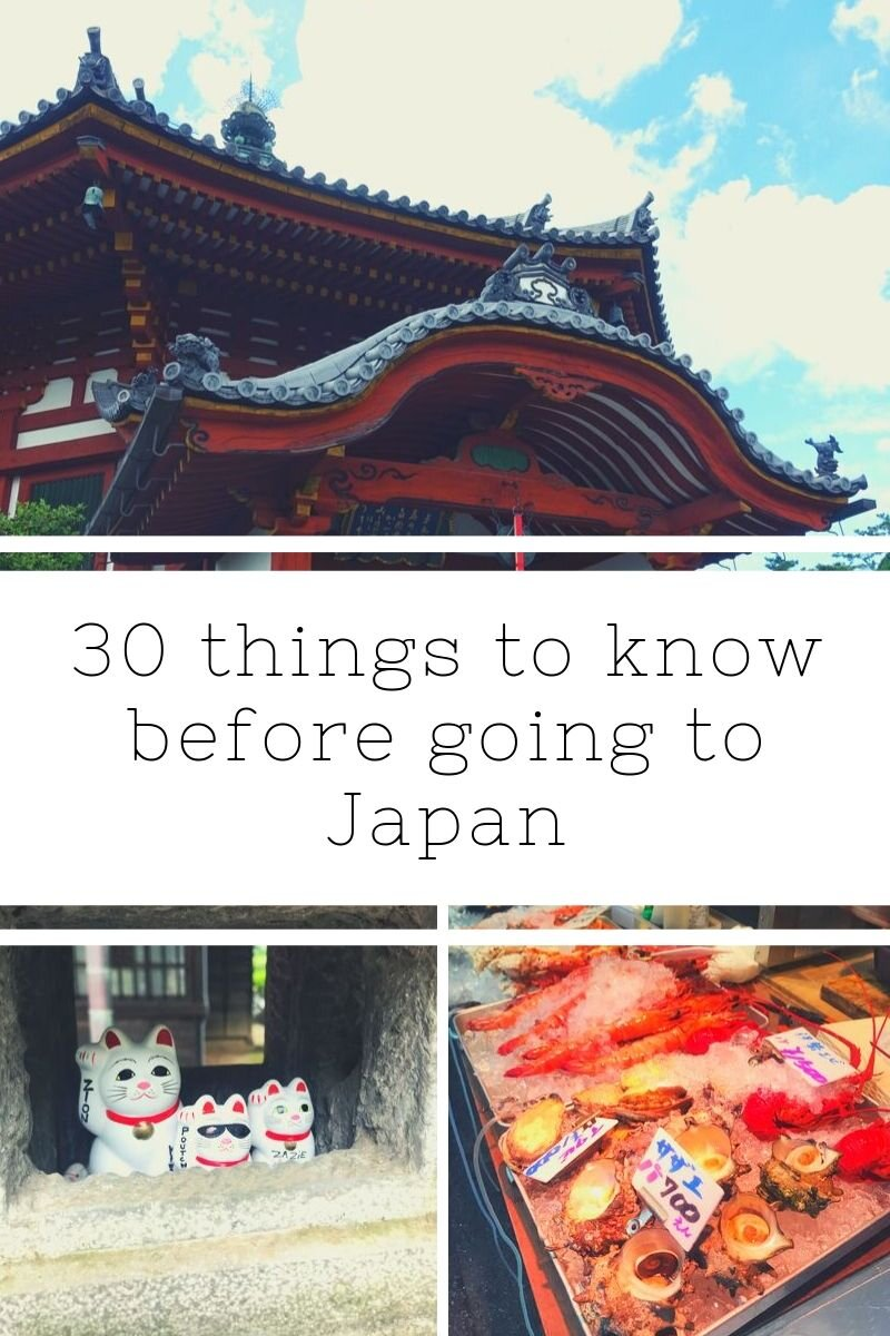 For those traveling to Japan for the first time it can be a bit of a culture shock. When I arrived I realized to not make waves and stick out like a sore thumb I needed to learn some things pretty quickly about the culture. Here is a list of 30 things you need to know to help you have the most amazing time in Japan. #japan #experiencejapan #thingstoknow #visitjapan