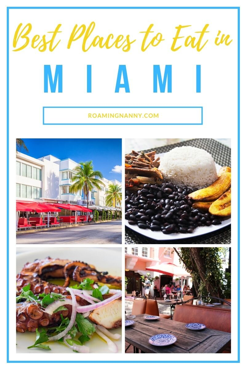 Miami is one of those cities that somehow always opens up your appetite. Here are 3 Miami restaurants I know you'll love. #miami #miamifood #restaurantsinmiami #placestoeatinmiami #visitmiami #florida