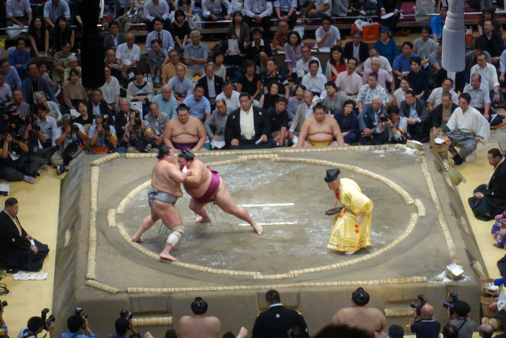what to do in tokyo sumo tournament
