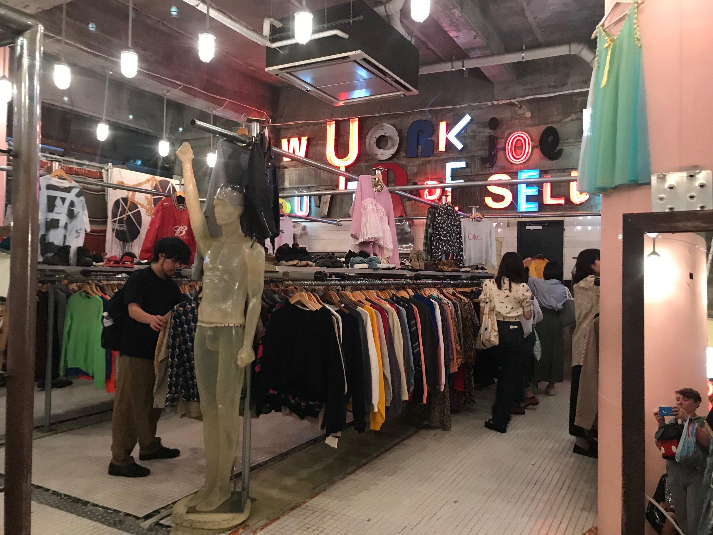 vintage clothes in tokyo