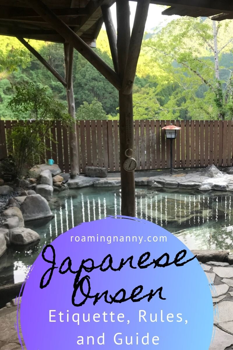I was made for the Japanese onsen life. I've put together this guide about etiquette and rules to help you have a great experience at the Japanese hot springs. #onsen #japan #japaneseonsen #japanesehotspring #hotspring #onsenetiquette