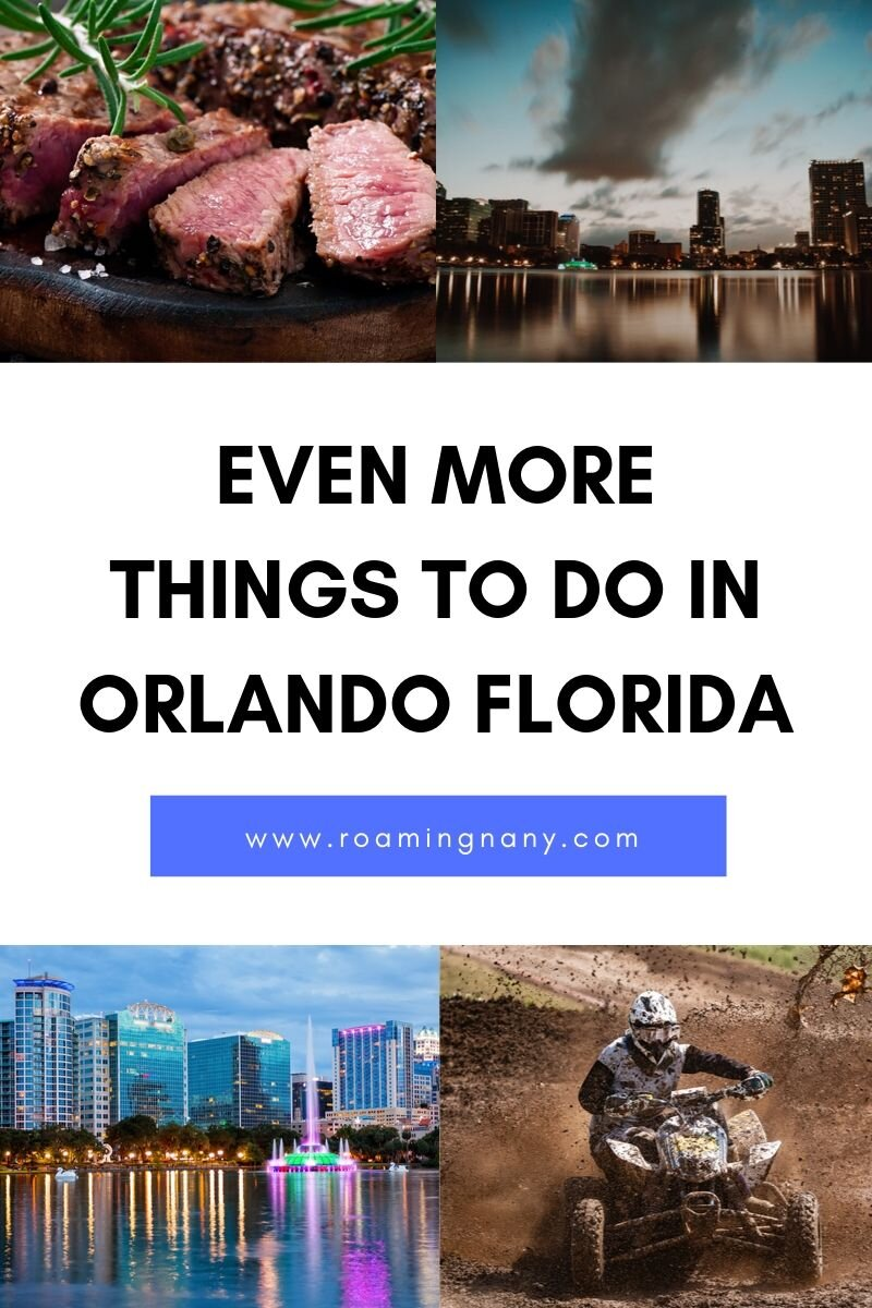 There are even more things to do in Orlando, Florida than theme parks. #orlando #florida #visitflorida #thingstodoorlando