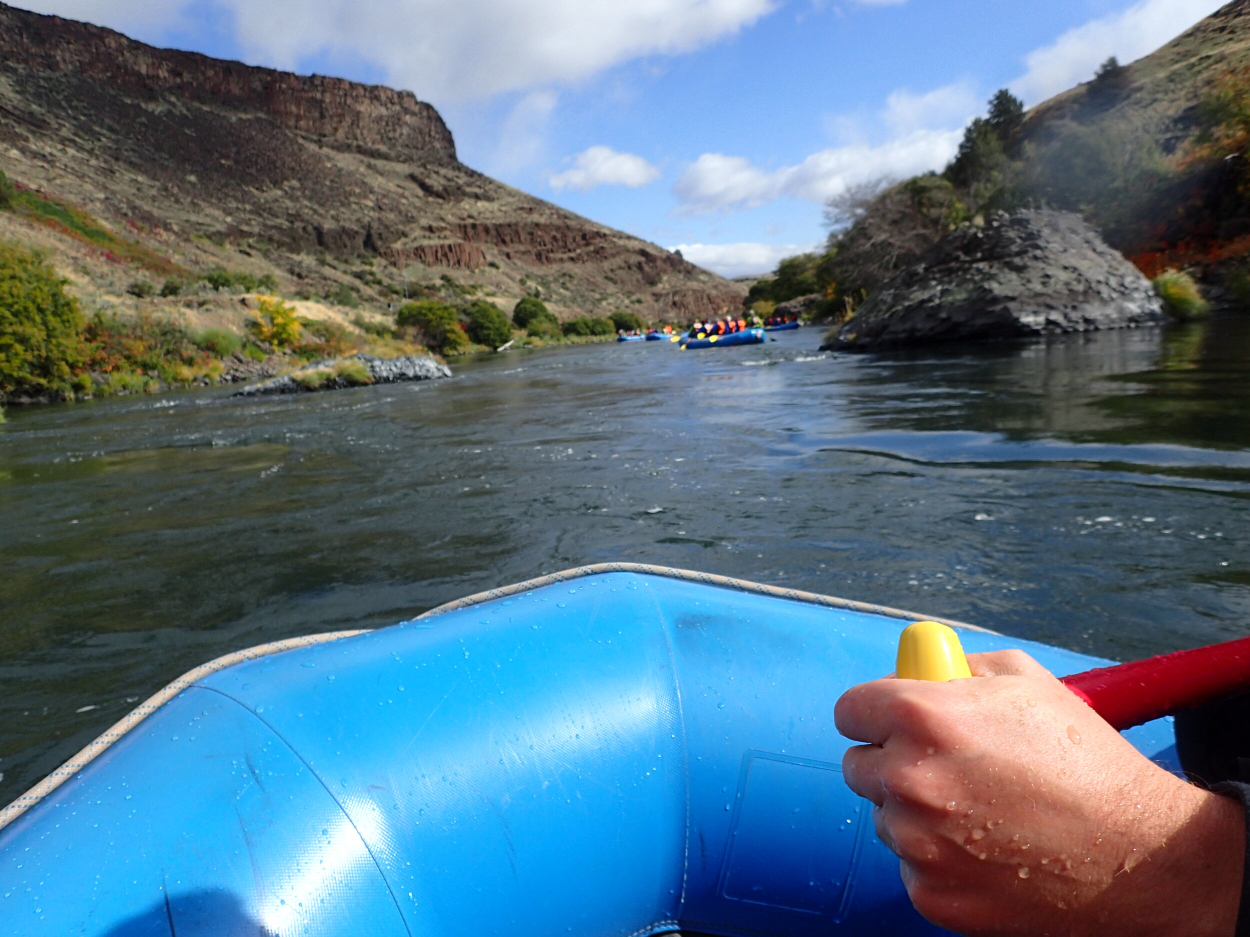 white water rafting oregon