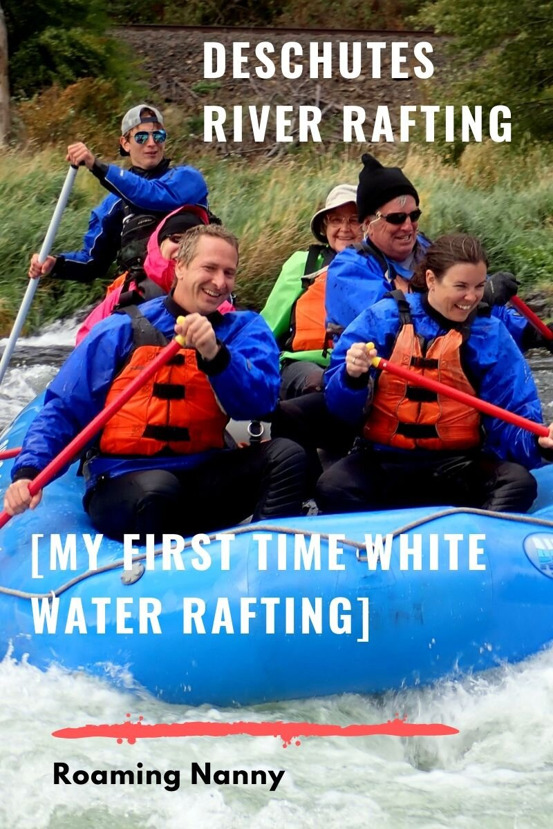 White Water Rafting in Oregon on the Deschutes River. My first time white water rafting with UnCruise. #oregon #riverrafting #whitewaterrafting #uncruise #deschutesriver