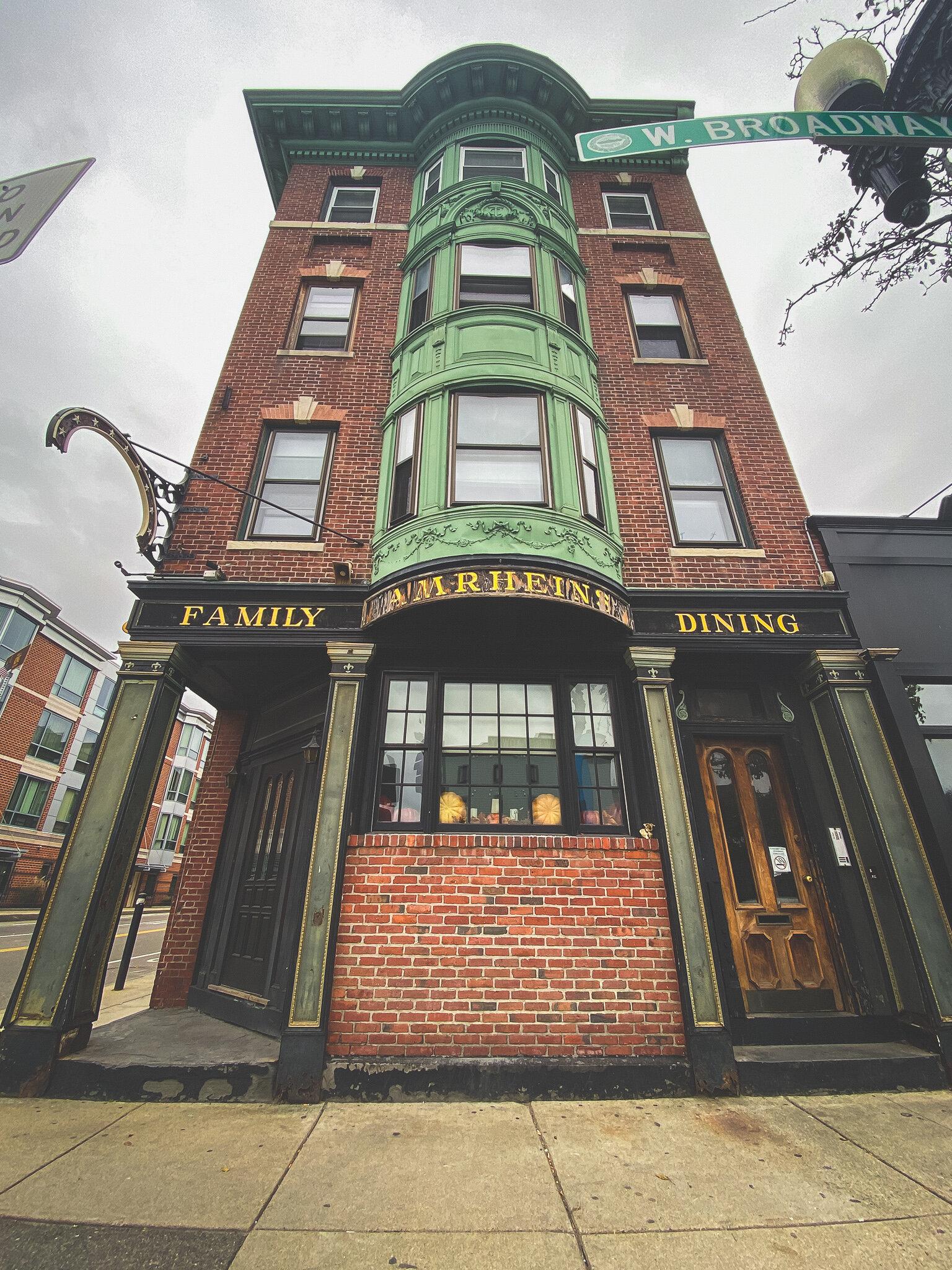 Amrhein's restaurant