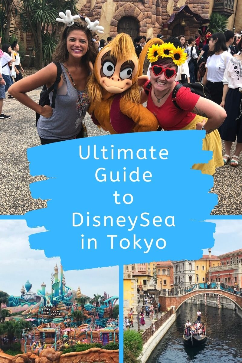 This Ultimate Guide to DisneySea has plenty of tips and tricks to help you have the BEST DAY EVER! #disneysea #disney #tokyodisney #disneyguide