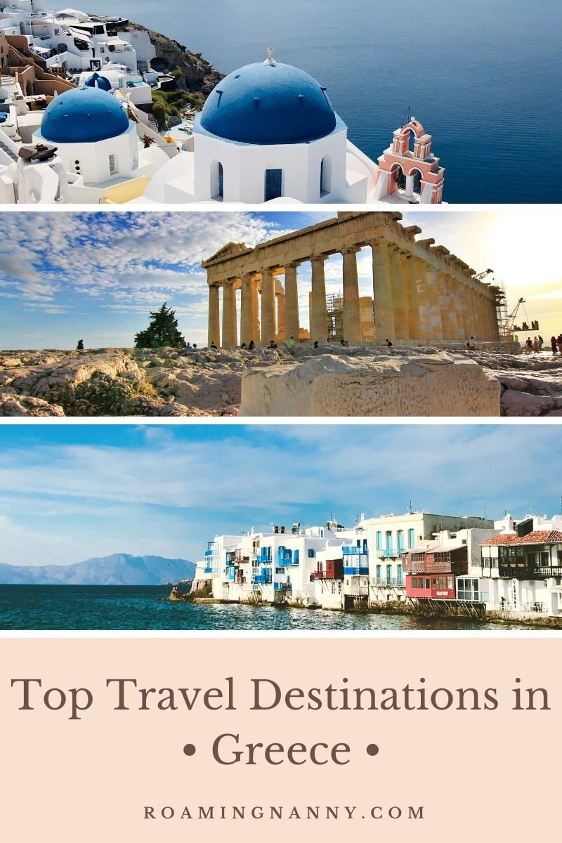 Greece is full of some of the most beautiful travel destinations in Europe. From spectacular islands and coastlines to archeological sites from the root of western civilization Greece will delight any traveler. #greece #visitgreece