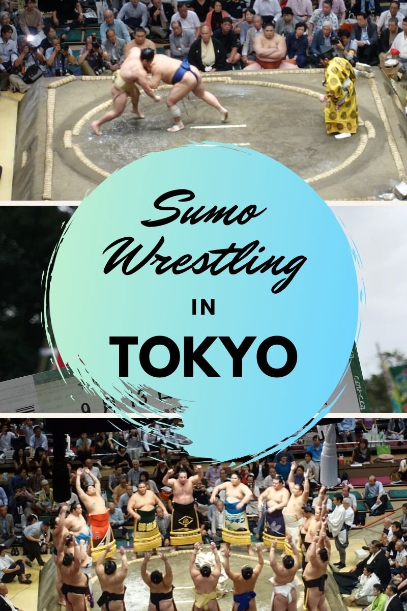 No visit to Japan is complete without a trip to Tokyo to watch the Japanese national sport, sumo wrestling! #japan #sumo #sumowrestling #tokyo #tokyojapan