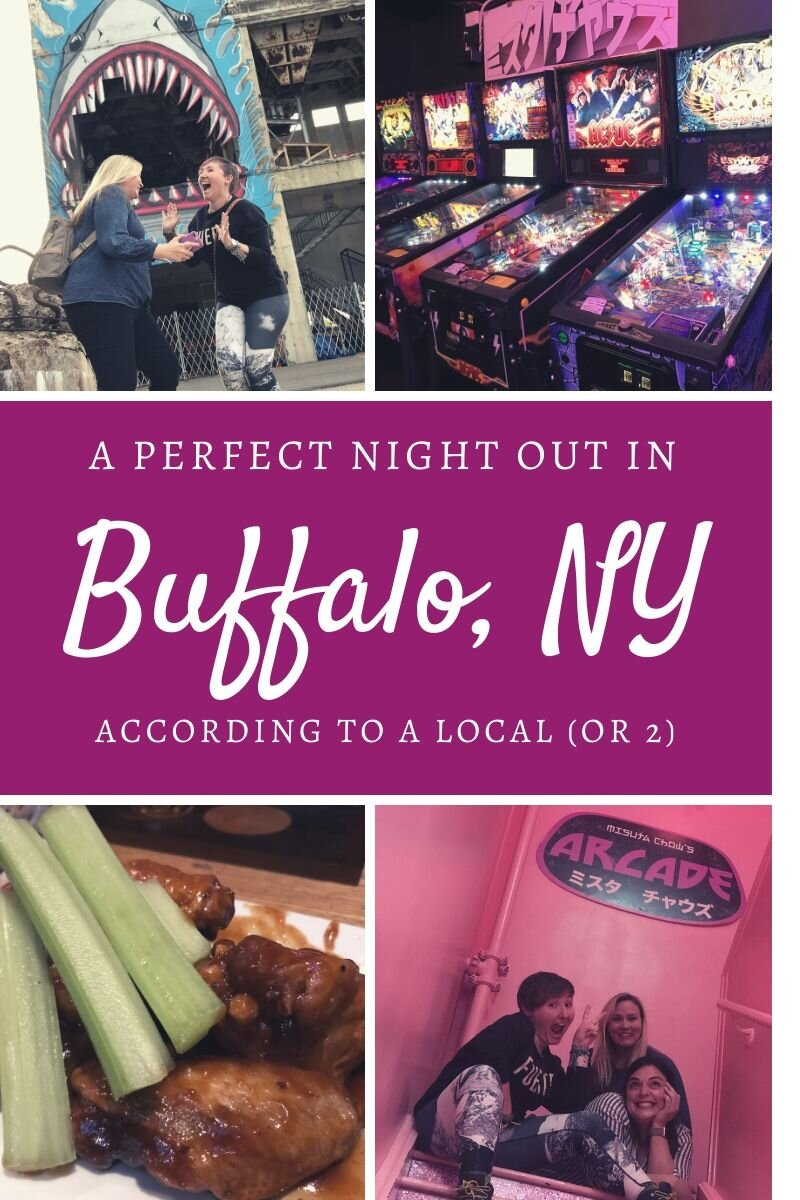 Buffalo New York has some amazing bars, so if you're in the city make sure you follow the plan for this night out. I did it with 2 of my friends who are locals and these ladies know their city! #buffalo #visitbuffalo #buffalonewyork #newyorkstate #upstateny #ilovenewyork