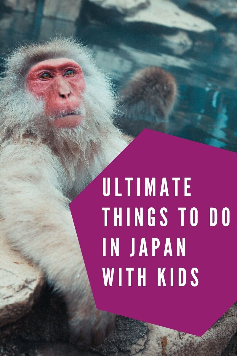 Here is a list of the best things to do in Japan with kids. From fantastic natural and man-made wonders and cities to visit, Japan is the ideal family holiday spot. #family #familytravel #japan #visitjapan #japanwithkids #familytriptojapan #familyvacation