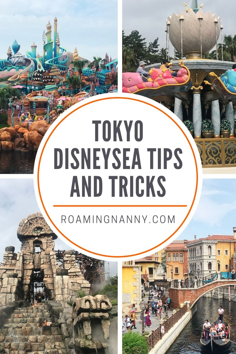 The best tips and tricks to make your day at Tokyo DisneySea the best it can be! #disney #disneysea #tokyodisney