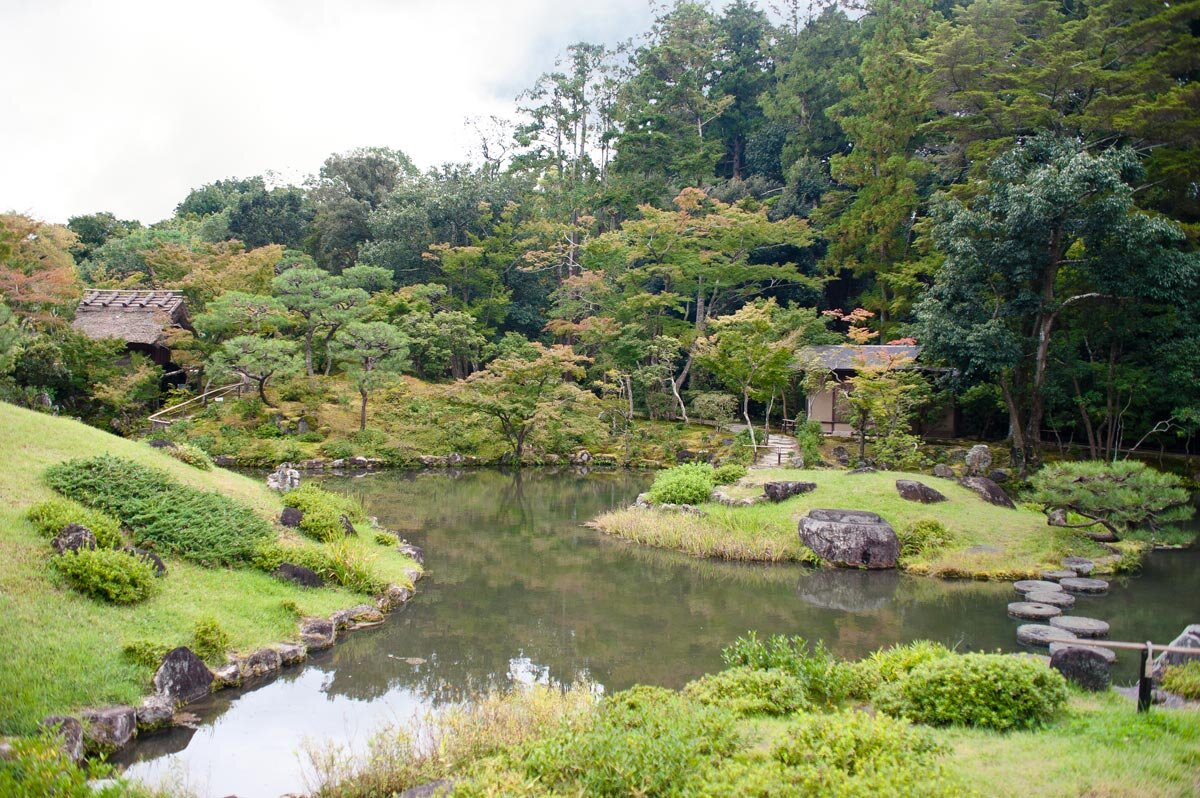 Isuien Gardens in Nara