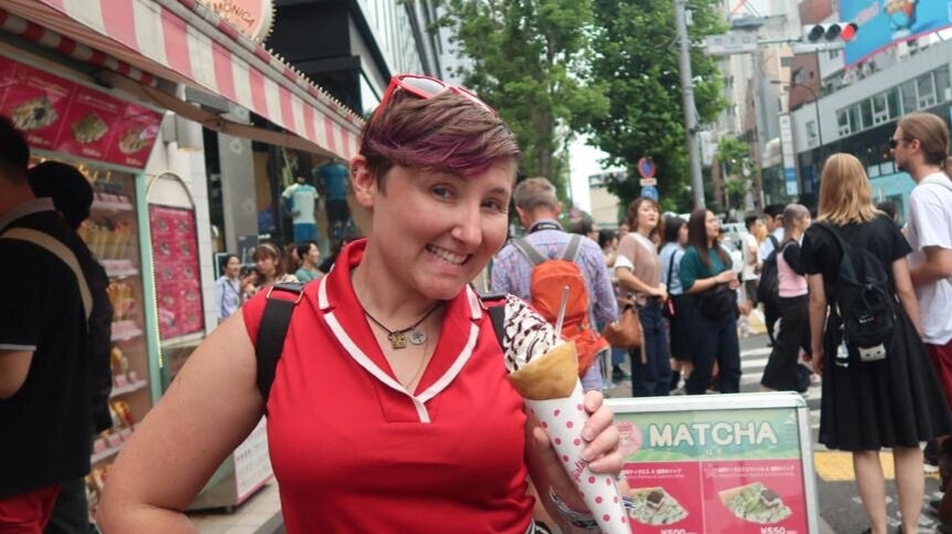 what to do in Harajuku eat a crepe