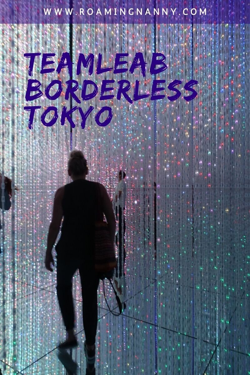 TeamLab Borderless in Tokyo is an immersive art experience is like no museum I've ever been to. Here are all the tips and tricks you'll need to know before you go. #tokyo #teamlabborderless #teamlab