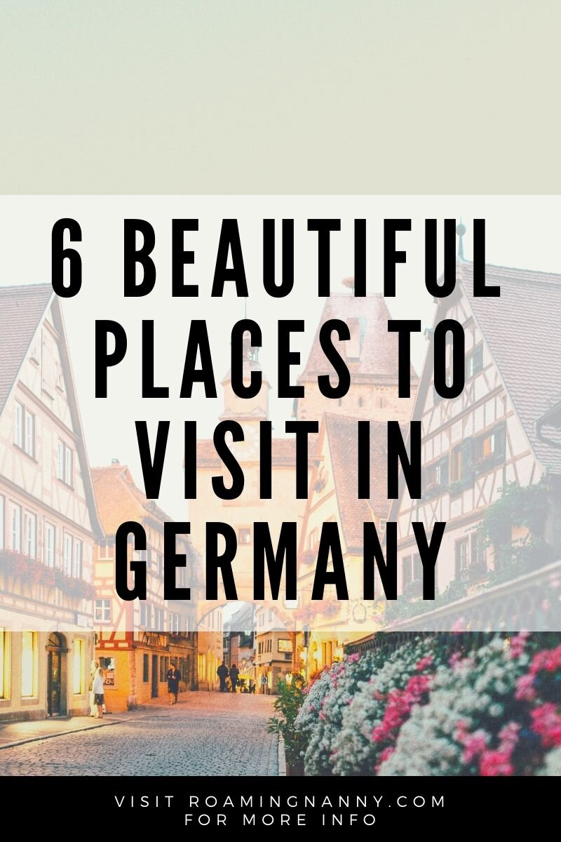 Everyone knows about the metropolitan and arty Berlin, or has heard about Oktoberfest in Munich – but Germany has so much more to offer in terms of astonishing views, delicious food and rich history. Here are my six picks for beautiful destinations in Germany, and a few tips for what to do there. #germany #visitgermany #europe