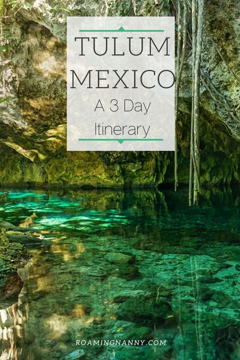 Tulum, Mexico's popularity has dramatically risen in the last few years due to its perfect balance of culture, adventure and relaxation it offers its visitors. Here is a Tulum 3 day itinerary to help you plan the perfect trip. #tulum #tulummexico #mexico #visittulum