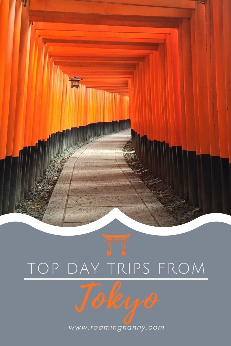 With some of the best public transportation in the world, Tokyo is the perfect place for a home base while traveling in Japan. Here are some of the top day trips from Tokyo. #tokyo #daytrips #viistjapan #explorejapan #topdaytrips #tokyodaytrips