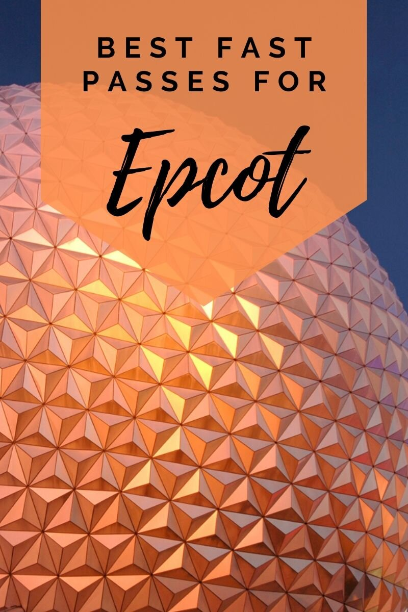 Your quick and easy guide to Epcot fast passes at Walt Disney World #wdw #epcot #fastpass #waltdisneyworld #disney