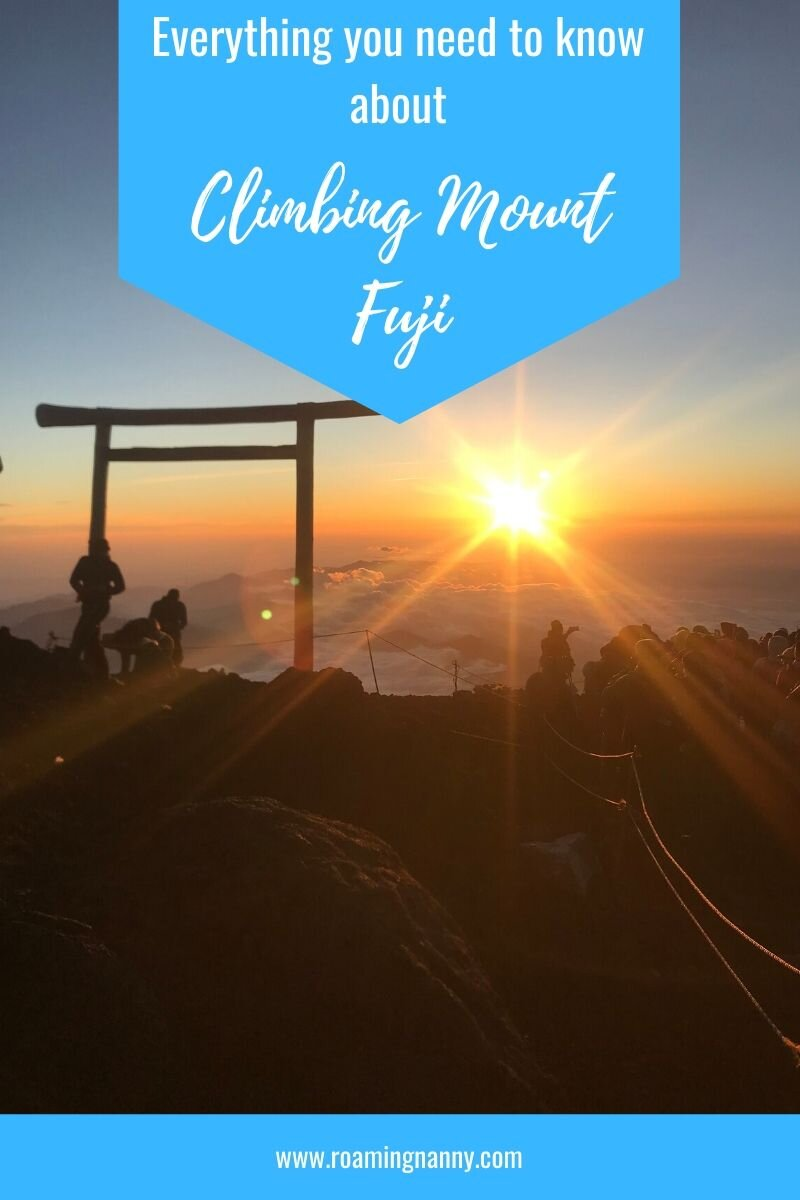 Climbing Mount Fuji is on my 40 things I want to do before I turn 40 list. While this mountain only takes 2 days to hike it was definitely a challenge for me and the 5 friends I climbed it with. Since my climb (and posting about it on instagram) I received many questions about the hike and the mountain itself. In this post I've answered those questions and included a list of tips I thought might help future climbers. #mountfuji #mtfuji #japan #hikejapan