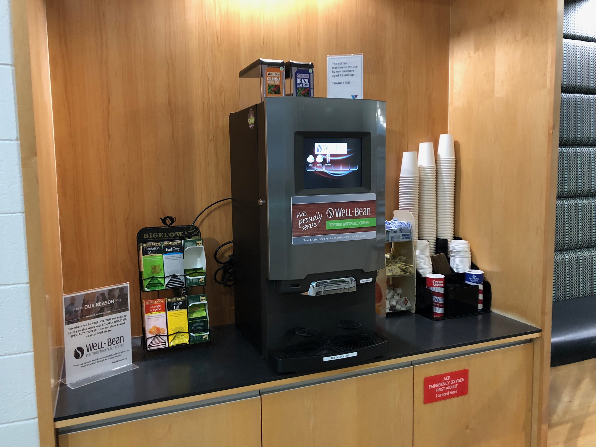 Skip the long lines at the café. Bring the café to your office! - Serving Raleigh, Durham, Chapel Hill, and all other locations in the North Carolina Triangle area.