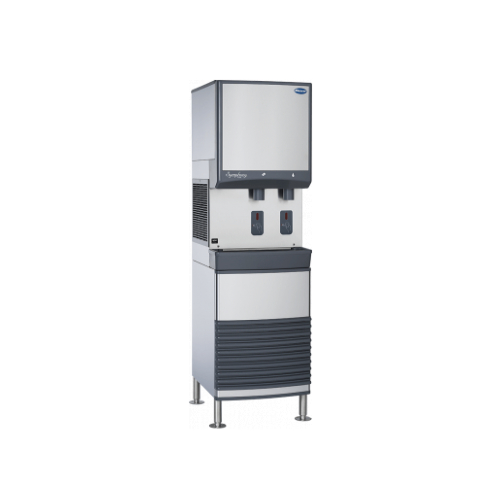 Symphony 25 Series Ice & Water Dispenser - 25 pound ice storage capacity. Up to 425 pounds daily production